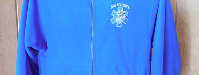 Royal Blue Fleece Jacket