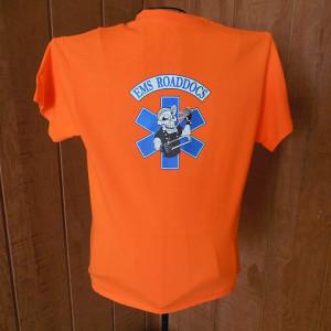 mens orange shirt