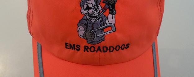 Hi Viz Orange Hat